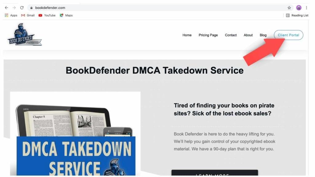 Client Portal Step 1